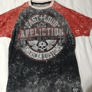 Mens Affliction tshirt